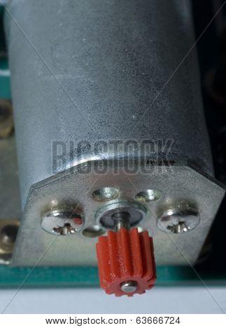 Electric Motor Close Up