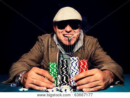 Happy Poker Face