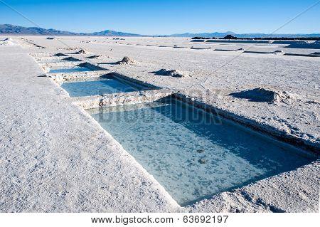 Salt Desert In The Jujuy Province