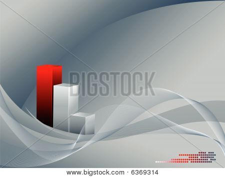 Abstract Background With Curves