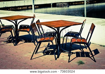 Tables In Cafe