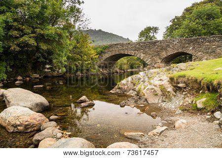 Ulpha Bridge In Duddon Valley