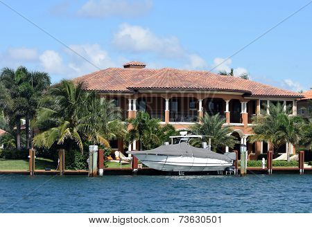 Expensive Waterfront Home