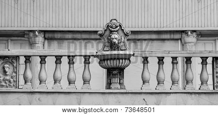 Detail On Old Nassau Bank Building