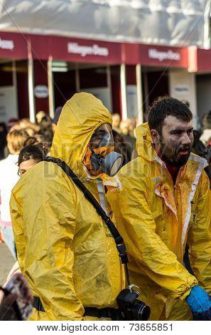 World Zombie day - London 2014