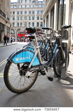 Bikes for rent in London