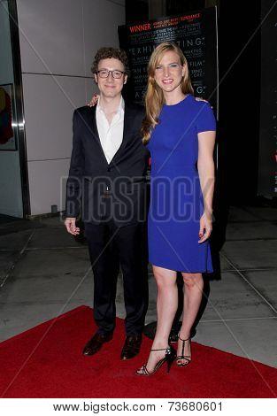 LOS ANGELES - OCT 6:  Nicholas Britell, Helen Estabrook at the