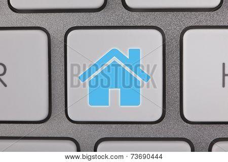 Real Estate on Keyboard