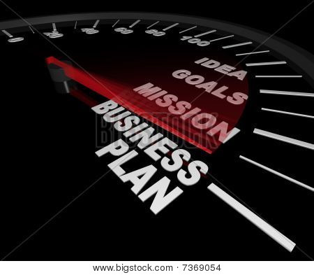 Business Plan Tachometer