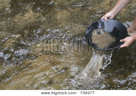 Gold Panning For Gold