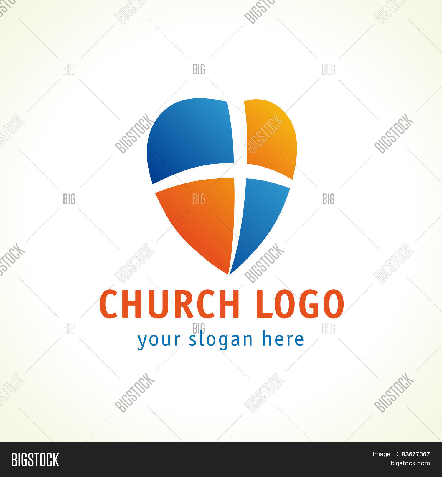 Christian Church Vector Photo Free Trial Bigstock