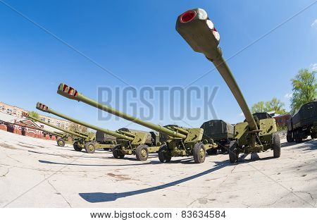 The 152 Mm Howitzer 2A65 Msta-b.