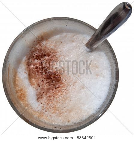 Foamy cappuchino