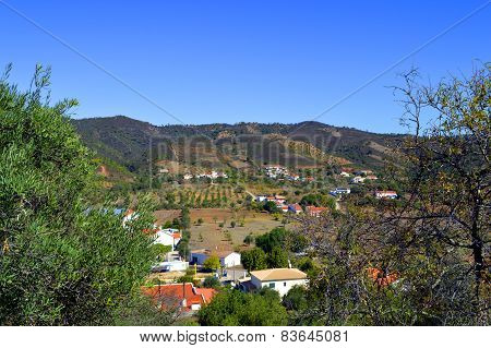 Salir countryside in Portugal