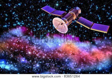 3D model of an artificial satellite of the Earth
