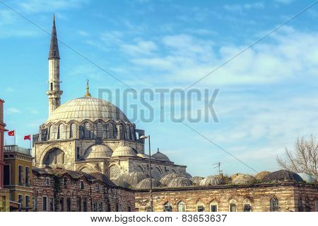 Yeni Cami Mosque The New Mosque in Istanbul Turkey