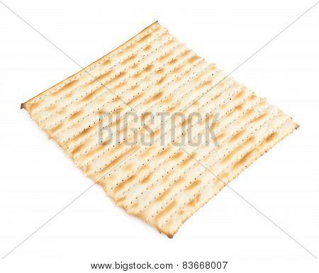 Single machine made matza flatbread