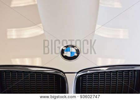 BMW Hood Logo