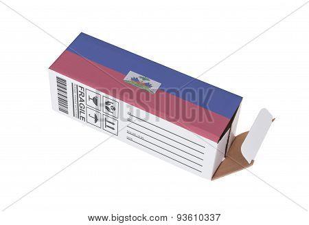 Concept Of Export - Product Of Liechtenstein