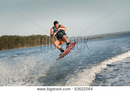 Male Wakeboarder, Wakeboarding