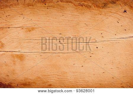 Old Wooden Kitchen Board