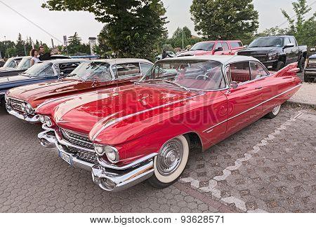 Vintage Cadillac Coupe De Ville Of The Fifties