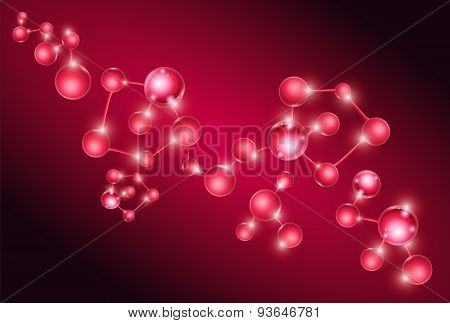 Group of Molecule DNA Cell