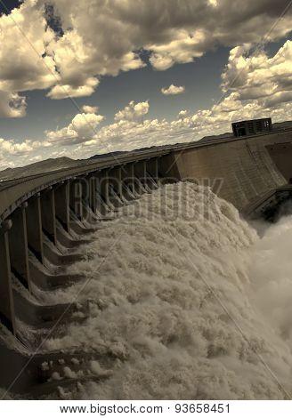 Gariep Dam Near Norvalspont In South Africa