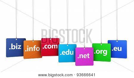 Internet Domain Name Tags