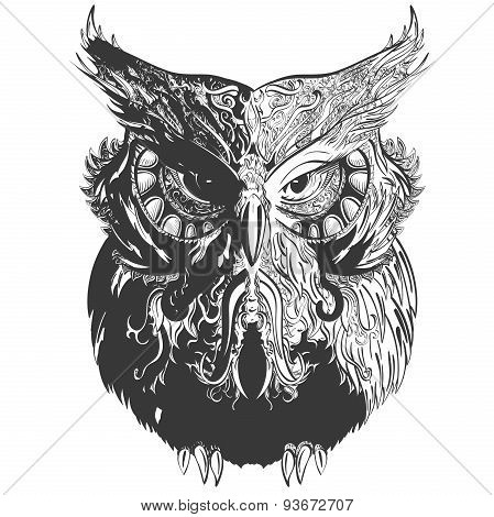 Owl Shadowesd Black