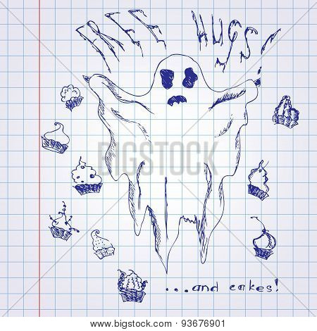 Funny Ghost