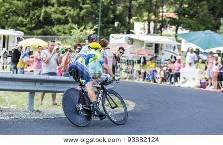 The Cyclist Nicolas Roche - Tour De France 2014