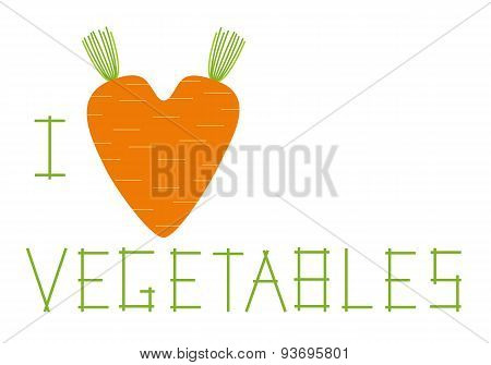 I Love Vegetables