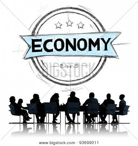 Economy Currency Income Money Savings Concept poster