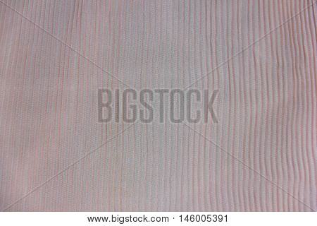 Pleated Fabric Background Texture. Pattern Of Fabric In The Crease Pattern For Backgrounds