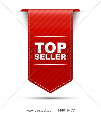 This is red vector banner design top seller