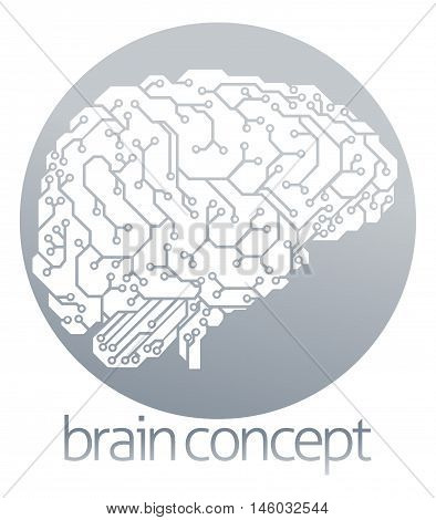 Electronic Brain Circle