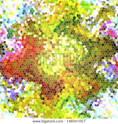 Abstract background of the abstract gradient with visual cubism,light effect,distortion,stained glass and wave effect,good for your design