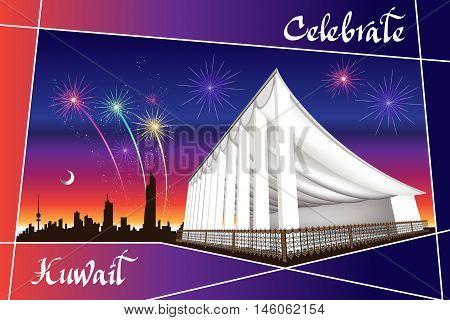 Arabian Landmarks Celebrate Kuwait - National Assembly Landmark