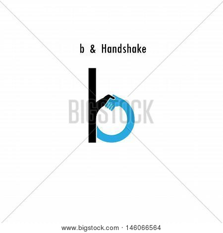 Creative B- letter icon abstract logo design vector template.Business offerpartnership icon.Corporate business and industrial logotype symbol.Vector illustration