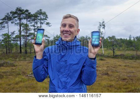Pokemon Hunt In The Countryside