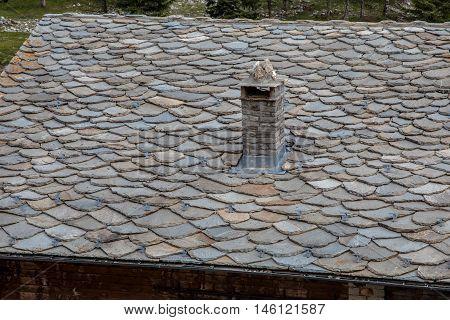 New Black Slate Tile Roof