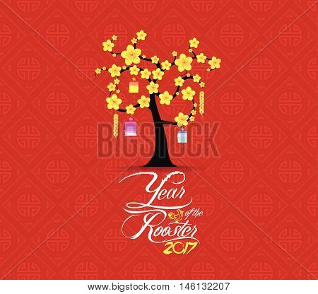 Tree design for Chinese New Year celebration