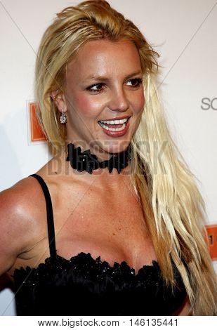 Britney Spears at the Scandinavian Style Mansion held at the Private Residence in Bel Air, USA on December 1, 2007.