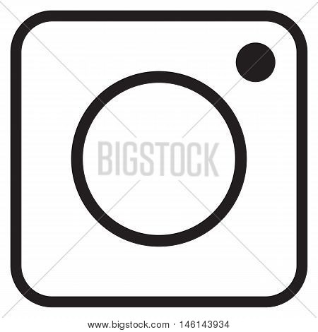 Instagram logo hipster icons button instagram square