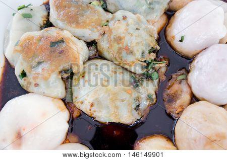 Garlic Chives Dim Sum Or Garlic Chive Dumplings