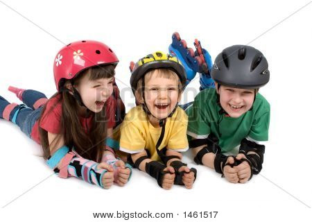 Kids In Safety Gear
