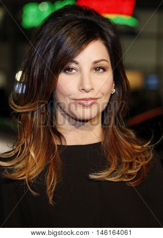 Gina Gershon at the World premiere of 'P.S. I Love You' held at the Grauman's Chinese Theater in Hollywood, USA on December 9, 2007.
