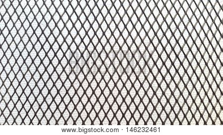 Metal mesh background.Technological abstract metal mesh background