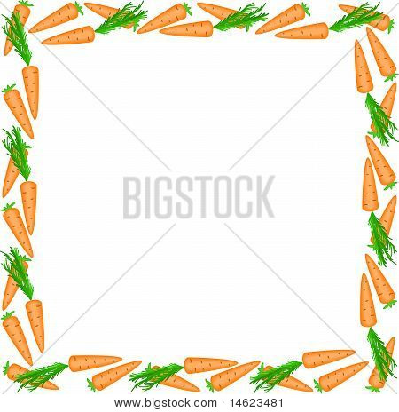 Frame Of Carrots